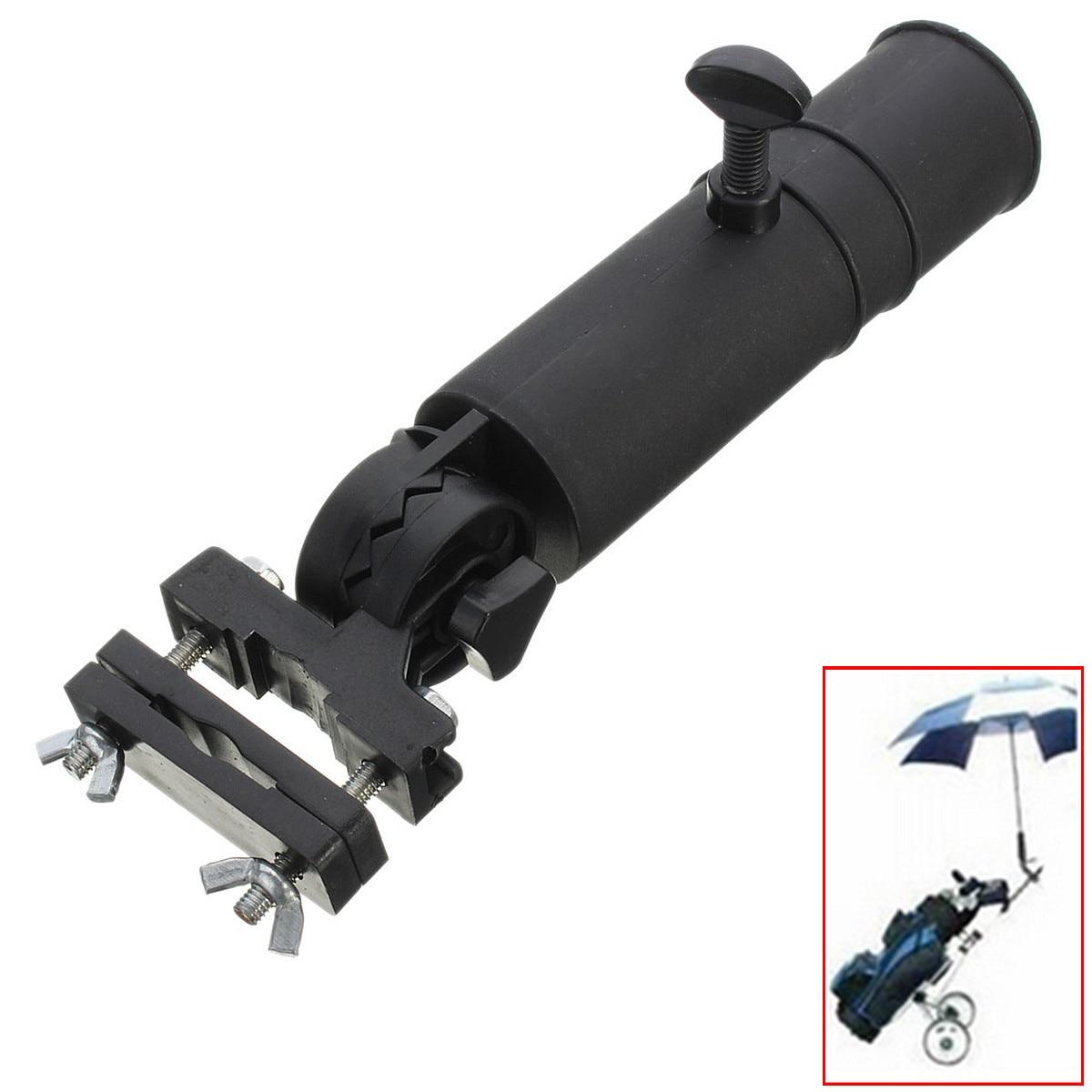 Universal Golf Regenschirm Halter Stehen Für Buggy Warenkorb Baby Pram Rollstuhl Schwarz 30 cm Hebel Entwickelt Einfach zu Installieren
