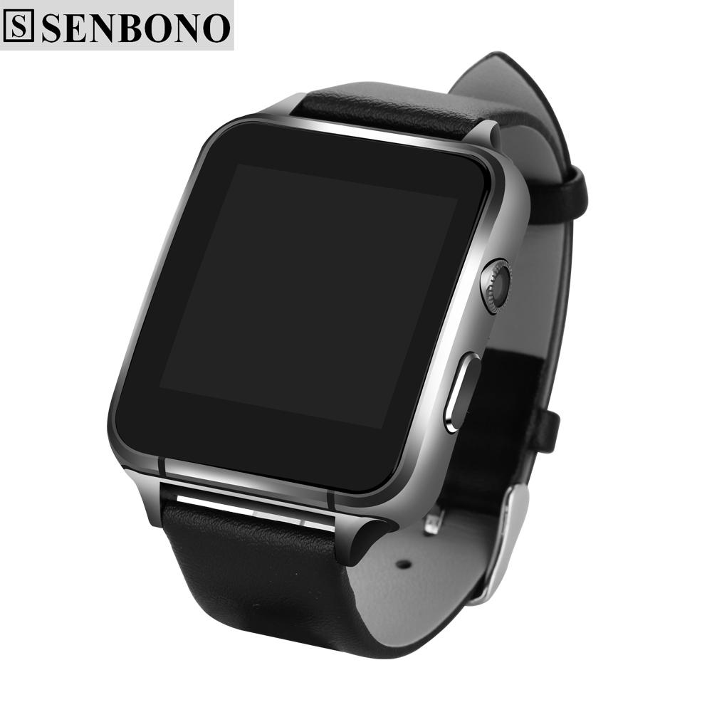 Prix pour SENBONO M88 Bluetooth smart watch MTK2502C HD écran coeur taux sommeil monitor support SIM Anti-perdu Pour ios android smartwatch