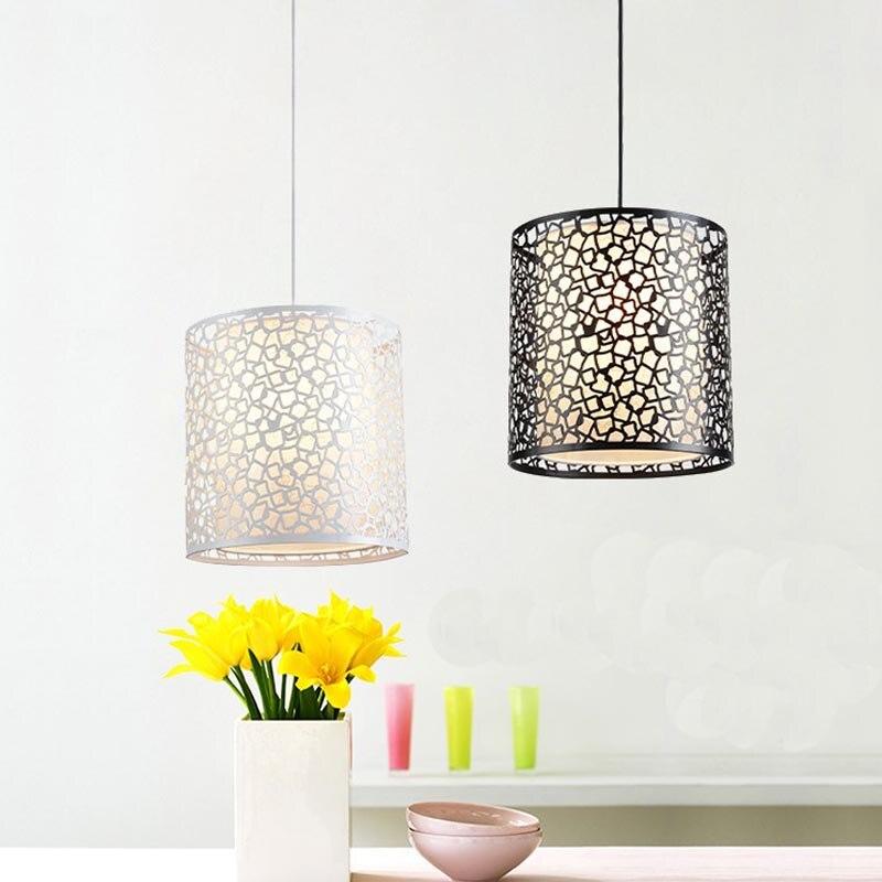 Suspension nordique fer moderne minimaliste rétro lumière scandinave loft pyramide lampe métal cage diamètre 25/30 cm + ampoule LED