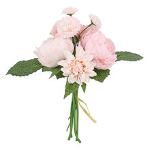 Peony Dali Bouquet Artificial Flower Fake Wedding Decoration Home Decorations Accessories