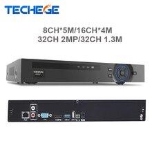 Full hd 32 канала 1080 P видеонаблюдения nvr 8-канальный * 5 м/16ch * 4 м/32ch 2-мегапиксельная/32ch 1.3 м onvif p2p motion обнаружения hdmi vga видеонаблюдения видеорегистратор