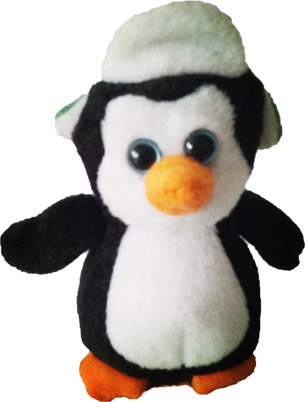 480cb921826 TY Beanie Boos penguin with hat doll Stuffed Plush Animals one piece about  10cm Soft Mini lovely troll doll kids toy hot toy-in Stuffed   Plush  Animals from ...