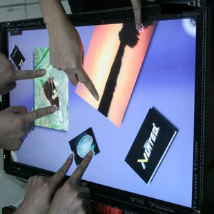 82 lcd Touch Screen Panel Kit, IR Touch Screen Frame, 16:9 format - 10 points,Transparency and high-resolution 17 touch panel kit
