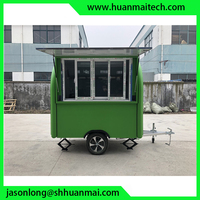 China Mobile Food Truck Enclosed Concession Trailer Catering Trailer Coffee Food Van