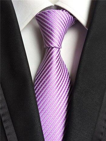 SCST Brand 2017 New Cravate 8cm Slim Mens Wedding Necktie Boys Neck Ties For Men Silk Tie Men's Neckties Gravata Purple A007