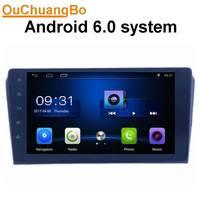 Ouchuangbo android 8,1 автомобильное аудио радио gps для mazda 3 2007 2009 с USB Bluetooth зеркальная поверхность подключение mp3 четырехъядерный испанский