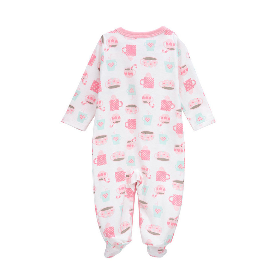 5639f5ba68e Vlinder 2017 3Pcs Newborn girls Spring clothes winter Jumpsuit infantil  menino Autumn Soft Baby rompers long sleeve onesie kids Tags