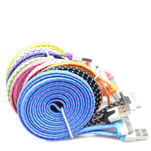 Braid cord sync touch ipad charger cable usb iphone for