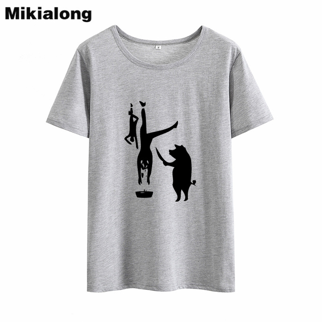 a6fd61ad2 Mikialong Vegan Funny T Shirt Women 2018 Graphic Tees Women Cotton Black  White Camisetas Mujer Printed Tumblr T-shirt Women