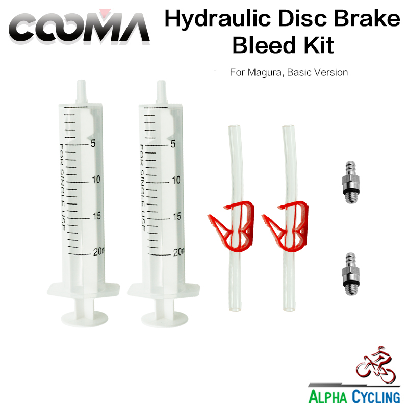 Bicycle Hydraulic Brake Bleed Kit For Magura MT Series Brake System, Also Fit For Tektro Hydraulic Brake, Basic Kit, V0.5