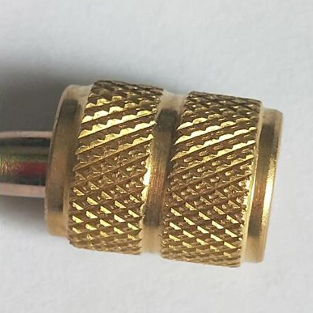 Image 2 - Split Ductless Service Port Adapter Connector High precision Brass Body 5/16' SAE Female to 1/4' Sae Male-in Marine Hardware from Automobiles & Motorcycles