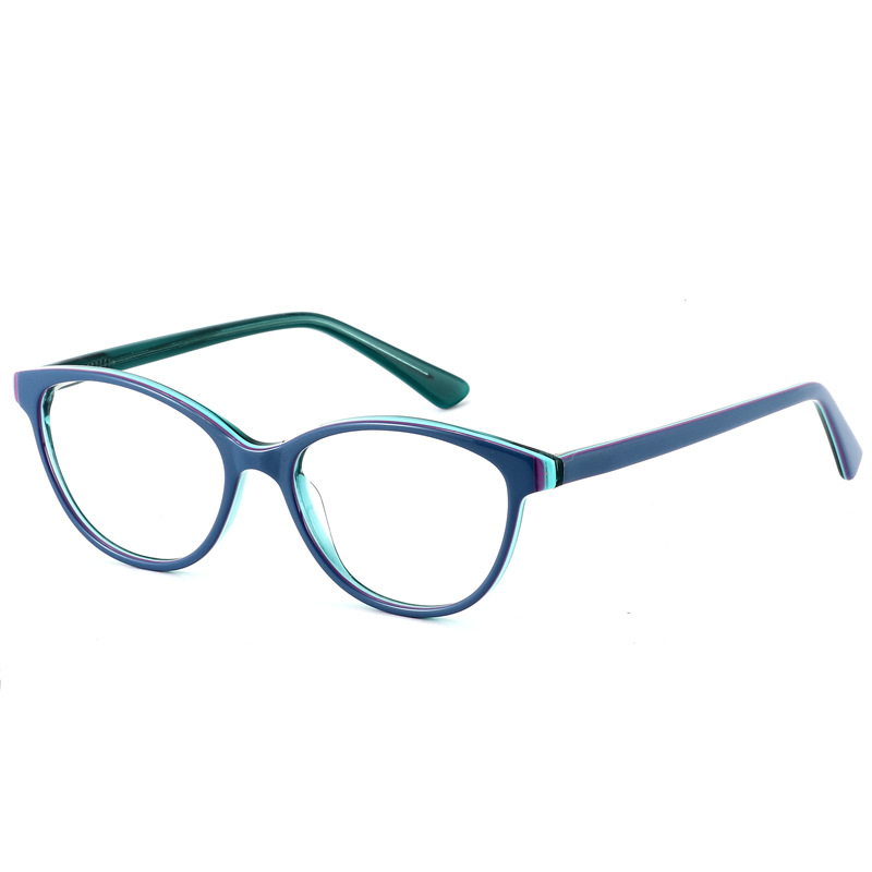 Image 2 - LOGORELA Glasses Optical Eyewear Frame Computer Spectacles Prescription Reading Eyeglasses Fashion Accessories Acetate Frame-in Men's Eyewear Frames from Apparel Accessories
