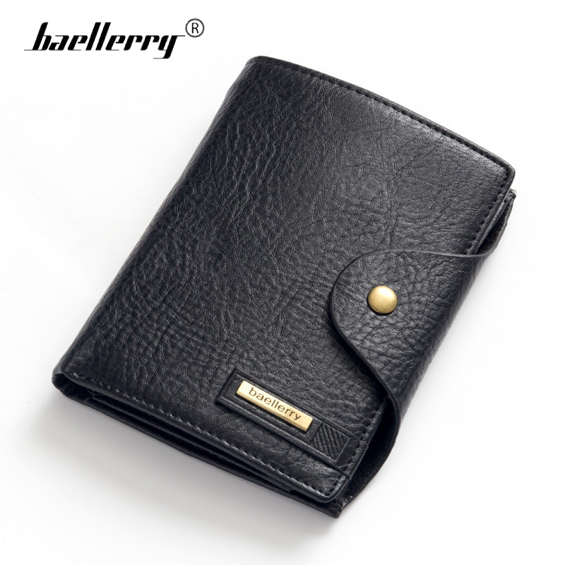 Baellerry Brand Passport Wallet Men Genuine Leather Wallets Vintage Card Holder Passport Cover Case Men's Purse Travel Walet luxury brand women genuine leather passport wallet travel wallets money purse with passport cover and license card holder case