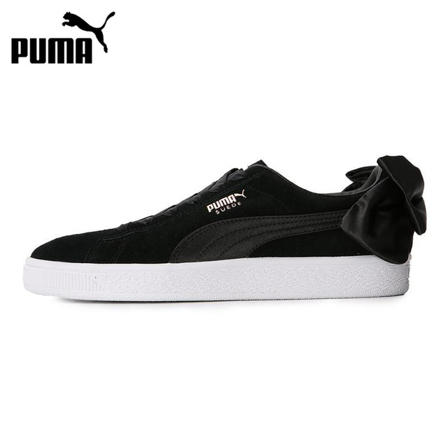 ea91c7cd99fa Original New Arrival 2018 PUMA Suede Bow Wns Women s Skateboarding Shoes  Sneakers