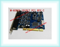 1010lt PCI REV C 10 input and 10 output audio interface industrial motherboard