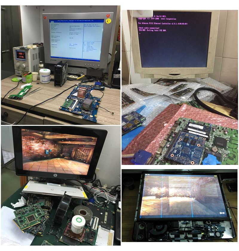 بطاقة الرسومات ل Asus K50AB K51AB K70AB X70AB K70AF X70AF X66IC محمول HD4570 HD 4570 512MB VAG عرض الفيديو بطاقة