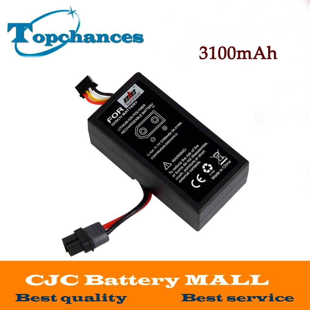 Высокое качество Перезаряжаемые Батарея для БПЛА попугай Disco FPV-системы 11.1 В литий-ионный полимерный Перезаряжаемые Батарея 3100 мАч