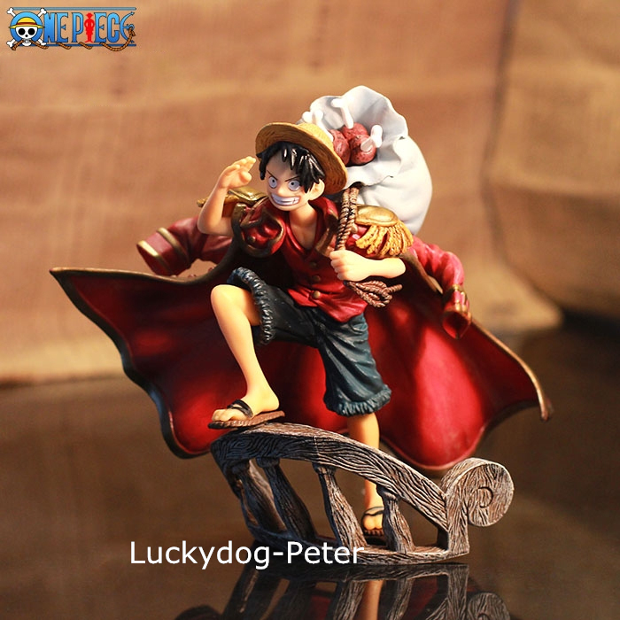 One Piece Monkey D Luffy Action Figure Luffy the top of War Doll PVC ACGN figure Garage Kit Brinquedos Anime 150MM