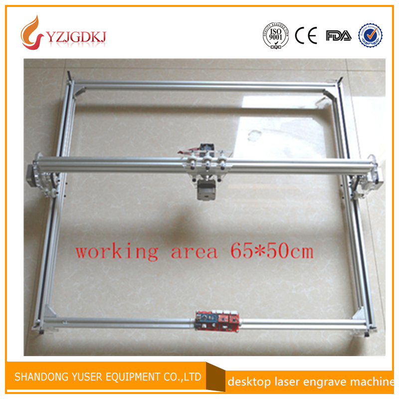 laser engraving machine cutting maching laser engraver big working area 65 50cm support laser power