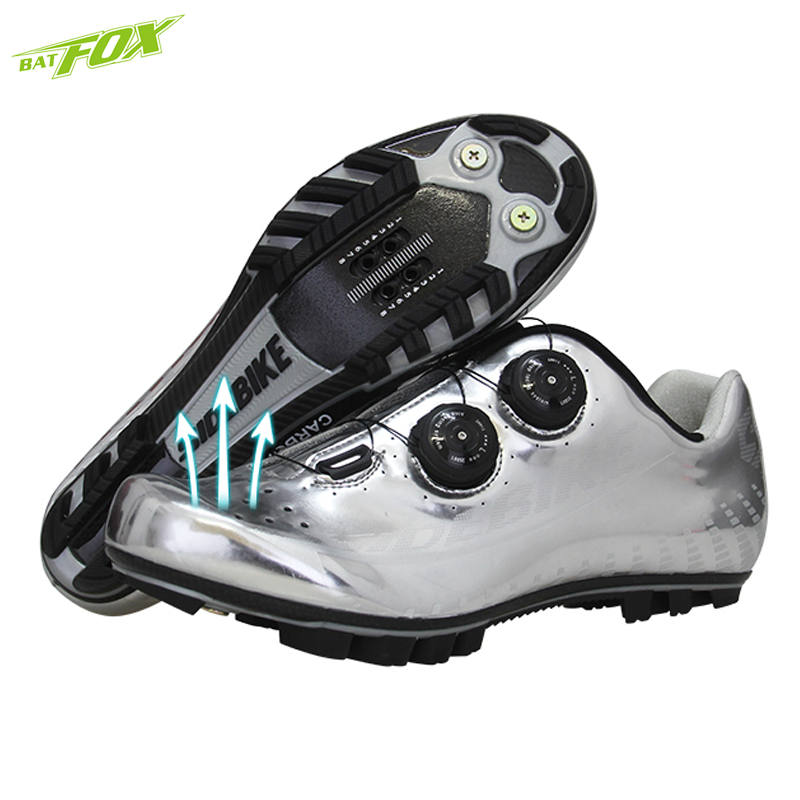 BATFOX Cycling sneaker Mens Breathable Cycling shoes mtb carbon-fiber Mountain bike shoes Self-Locking Athletic PRO Bicycle Shoe aquanet акриловая ванна aquanet augusta r 170 90 182589