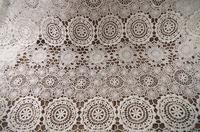5 ярдов белая хлопковая гипюровая кружевная ткань, хлопковая кружевная ткань, шикарная Свадебная кружевная ткань, свадебная кружевная ткан