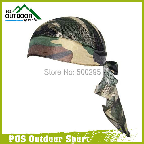 Paintball Airsoft Air Gun Headwrap Olive Woodland Camo Head Wrap Headband