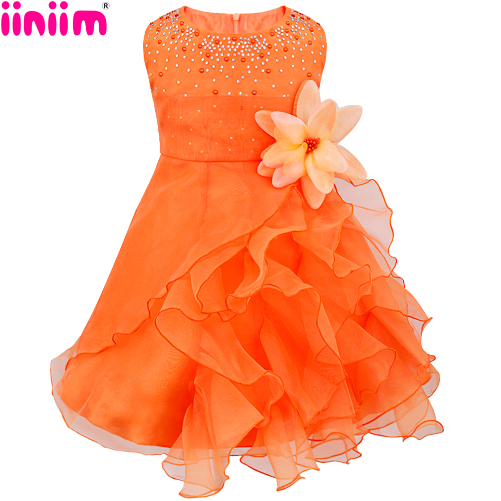 Orange flower girl dress dress images orange flower girl dress izmirmasajfo
