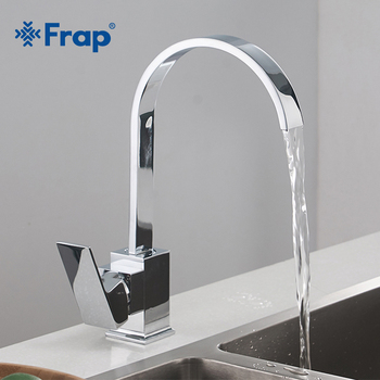 Frap New Arrival Kitchen Faucets Brass Kitchen Sink Water Faucet Cold and Hot Water Single Hole Water Tap Brass mixer Y40063 1