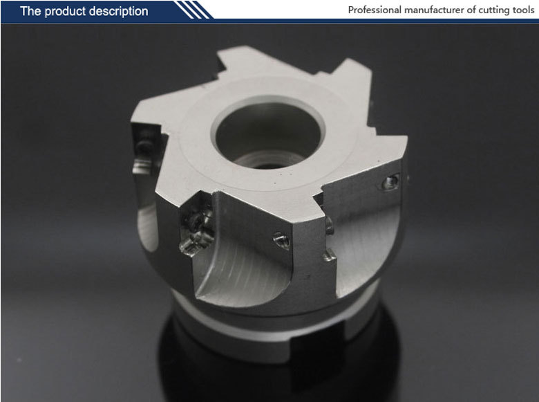 high quality Indexable square shoulder milling cutter EMP02-050-A22-AP16-05 serials milling tool for carbide inserts APKT160408 indexable internal threading inserts carbide inserts 16ir ag60 lathe cutter for thread turning