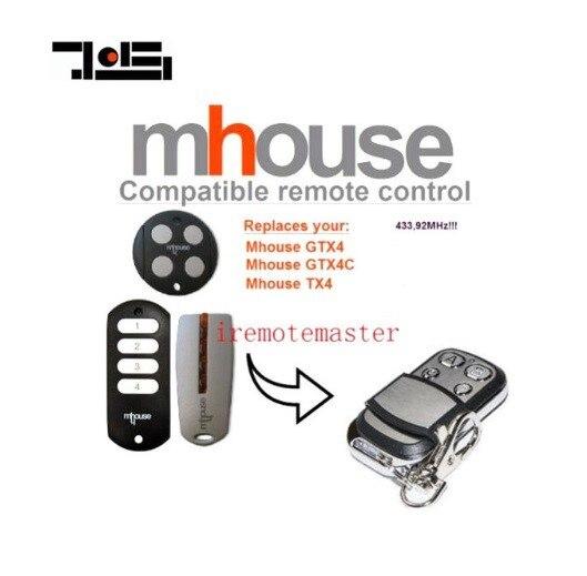 3pcs   MHouse GTX4, GTX4C,TX4  Gate Door Opener Replacement Remote Controller3pcs   MHouse GTX4, GTX4C,TX4  Gate Door Opener Replacement Remote Controller