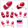480 PCS Prego Deaign DIY Manicure Francês Do Prego Art Decorações Dicas Nail Stickers Formulário Fringe Guias Etiqueta Styling Ferramentas de Beleza