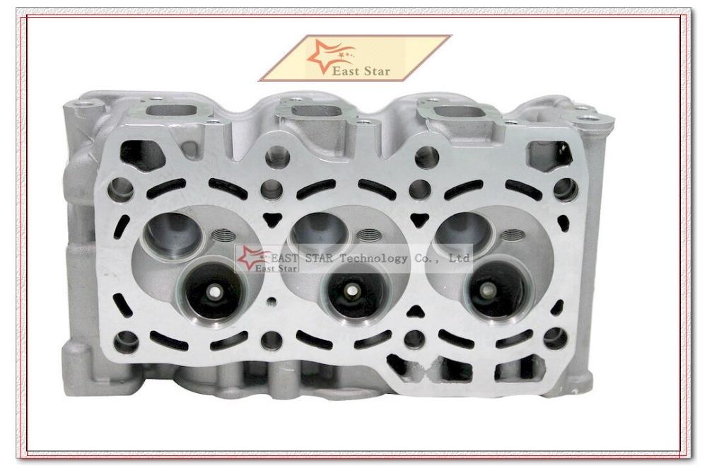 F8C 0.8L Petrol L3 Bare Cylinder Head For Daewoo Tico DAMAS Tico 796cc 68.50 SOHC 6 1986- 11110-78B00-000 1111078B00000 cylinder head for honda accord prelude 2156cc 2 2l petrol sohc 16v engine f22a1 12100 pob a00 12100poba00 12100 pob a00