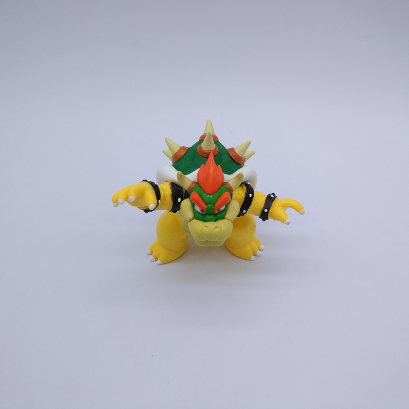Бесплатная доставка Super Mario Bros BOWSER ПВХ фигурку Коллекция Модель игрушки куклы 3.5 9 см новые