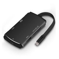 New Slim All in one Type C SD Card reader Micro SD card reader 2 X usb3.0 hub , type C to HDMI , type C to Type C .