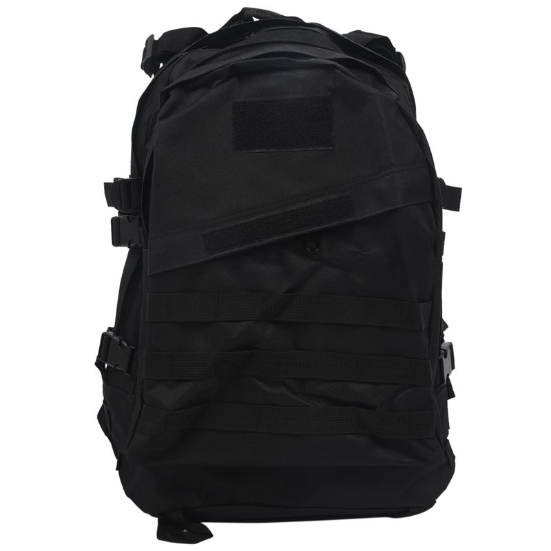 Outdoor 40L 600D Waterproof Oxford Cloth Military Rucksack  Backpack Bag ACU Camouflage Sports Travelling Hiking Bag Black