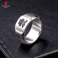 LEADTOP Fashion High Quality Stainless Steel Steel Knuckles Ring For Women Men
