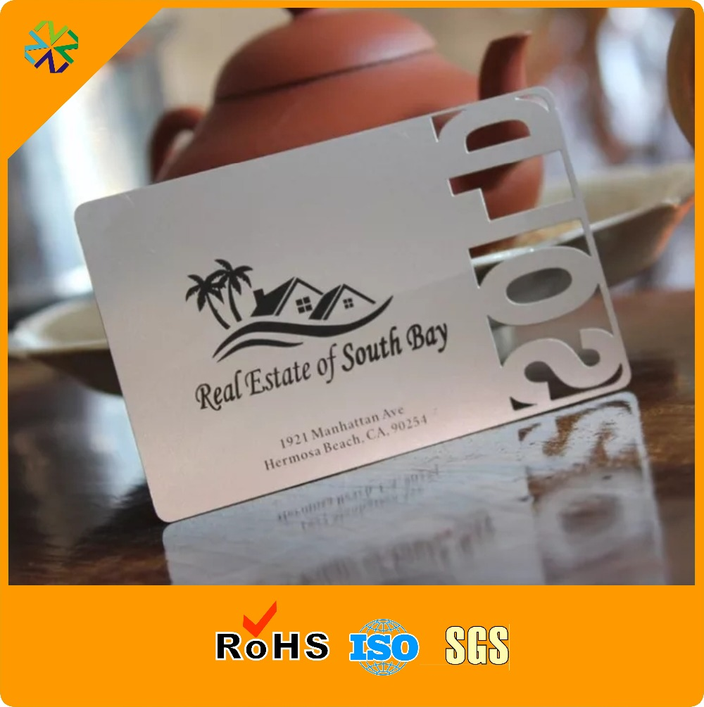 competitive price best brand custom cheap metal business card