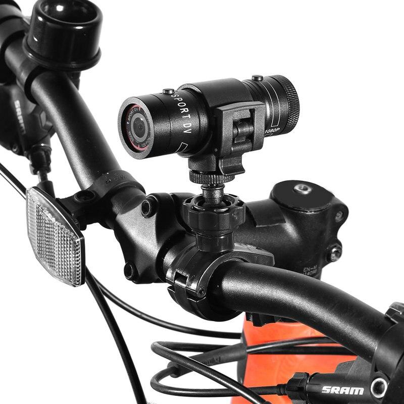 Full HD 1080 P Étanche Vélo Moto Casque Sports de Plein Air Action Caméra Vidéo DV Mini Caméra De Voiture 120 degrés angle