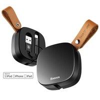 Baseus Retractable MFI USB Cable For IPhone 6 7 IPad IOS 11 Original Mobile Phone Usb