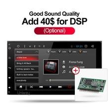Uniway 2G + 16G android 6.0 araba dvd toyota corolla/auris 2016 2017 araba radyo stereo baş ünitesi navigasyon