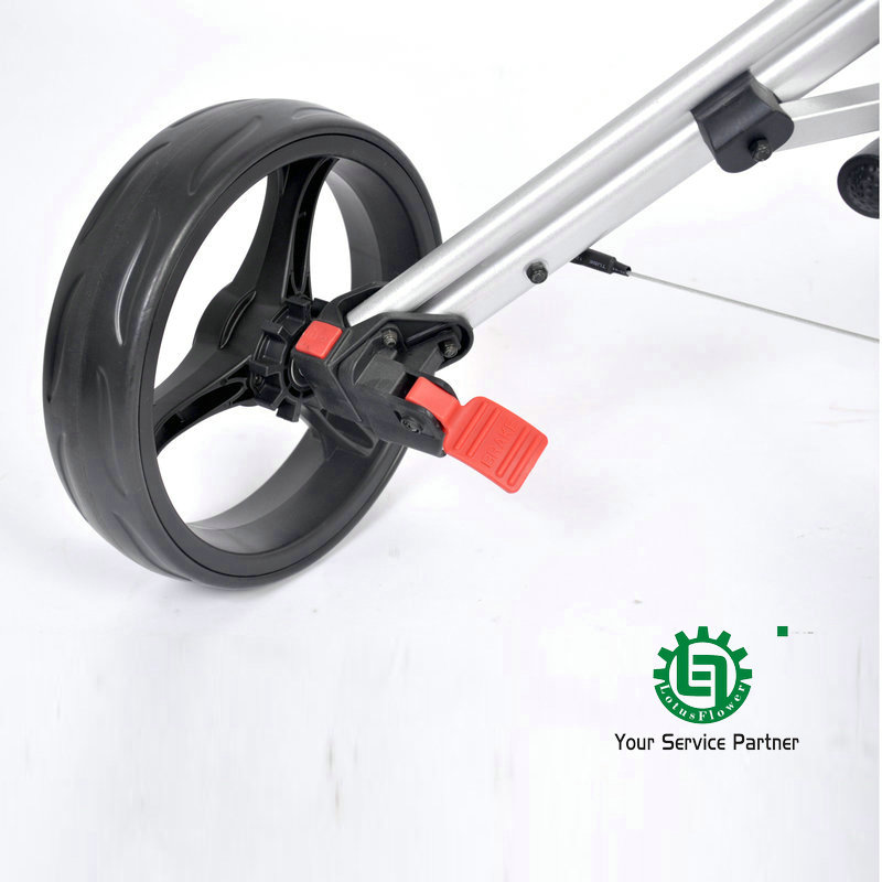 Nueva marca de Alta calidad De Aluminio 3 ruedas carrito de Golf ...