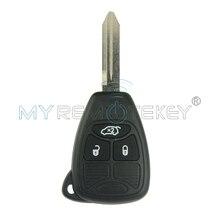 Car Remote Head Key 3 Button 434Mhz for Dodge JCUV JEEP Compass Chrysler 300C Sebring Remote Car Key Replacement Remtekey