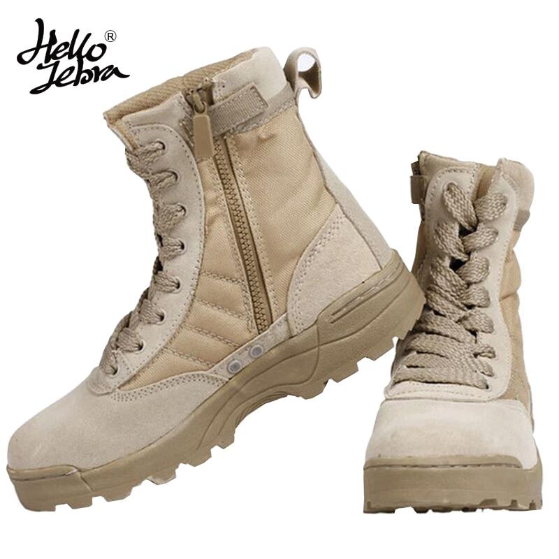 comprar más nuevo comprar popular muy agradable Hellozebra Delta Botas Táticas Deserto Militar Botas SWAT ...