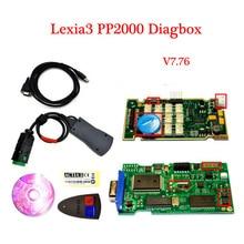 2016 neueste V7.82 Lexia3 PP2000 Auto selbstdiagnosewerkzeug V48/V25 Lexia 3 Diagbox 7,82 Für Citroen für Peugeot