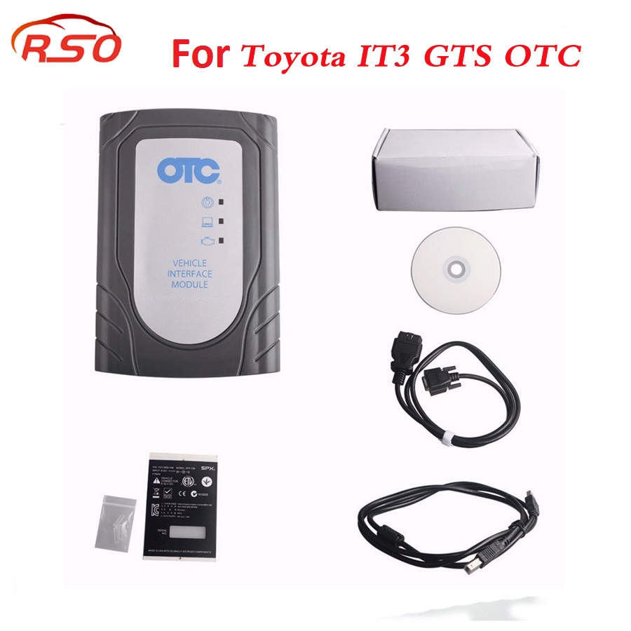 Per To-yota IT3 V13.10.019 Globale Techstream GTS OTC VIM OBD2 Diagnostico Scanner meglio di per T-yota it2 tester intelligente 2