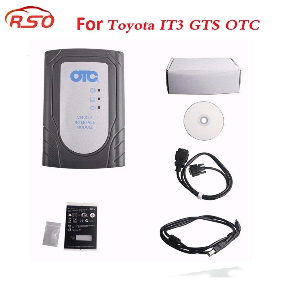for To-yota IT3 V13.10.019 Global Techstream GTS OTC VIM OBD2 Diagnostic Scanner better than for T-yota it2 intelligent tester 2