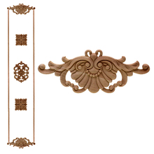VZLX New Rubber Wood Carved Applique Retro Furniture Crafts Decor Vintage Home Decoration Accessories Figurine Wooden Letters
