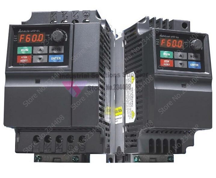 Delta Inverter Delta EL 750W Series Three Phase Frequency Converter Vfd007el43a 0~480V 2.5A 0.1~600Hz VFD-EL 0.75KW 1HP