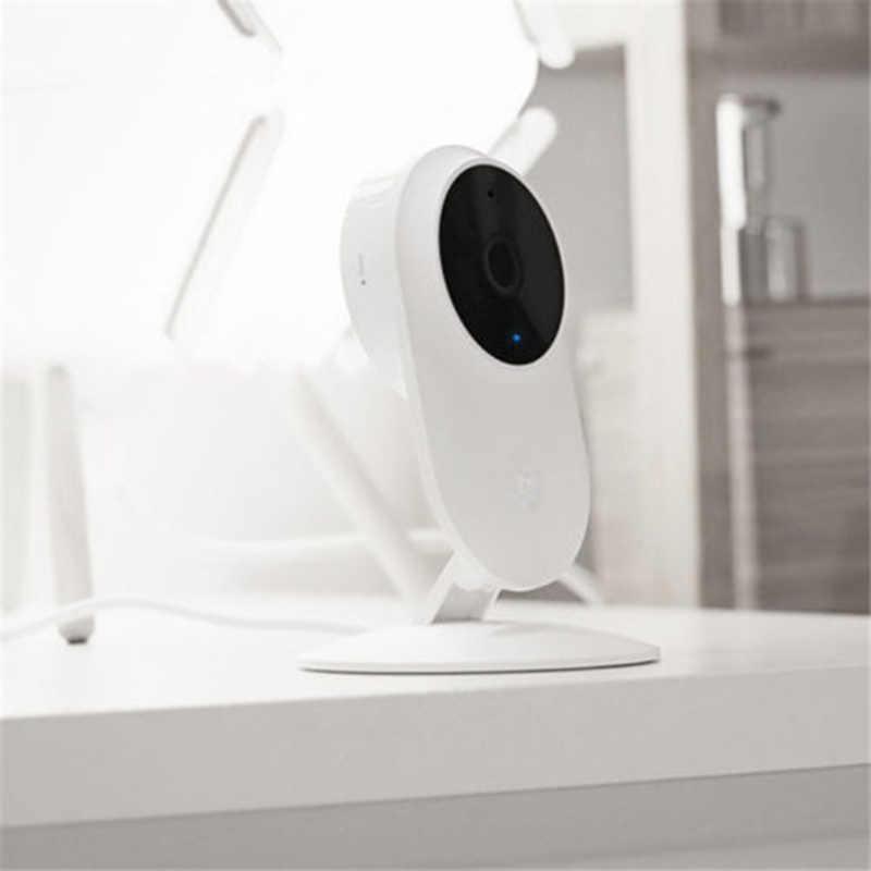100% الأصلي شاومي Mijia 1080P كاميرا ذكية 130 درجة FOV للرؤية الليلية 2.4Ghz ثنائي النطاق واي فاي شاومي طقم المنزل شاشة أمن