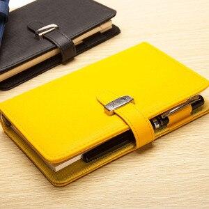 Кожаный спиральный блокнот RuiZe, вместительный блокнот для заметок A5 A6 A7 B5, органайзер для ежедневника, блокнот, офисные принадлежности